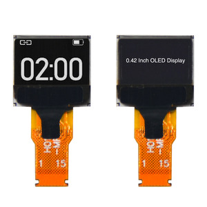 China 0.42 Inch OLED Display 72x40 Micro OLED Module With SSD1306B Driver IC (KWH0042UX03) factory