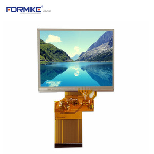 China Flexibles 3,5-Zoll-LCD-Display mit Weitwinkel-KWH035ST18-F02-Fabrik