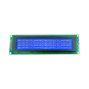 Chine 40x4 STN Type Character LCD 4004 40 * 4 Character COB LCD Display Module (WC4004A0SGW1B) usine