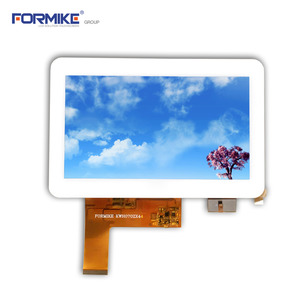 China 7inch 800x480 capacitive touch screen 40pin lcd module(KWH070ZX44-C01) factory