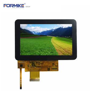 China High resolution 5 inch TFT 800x480 capacitive touch screen with RGB 24bits I2C interface(KWH050ST19-C03) factory