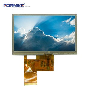 "China Hot Produkt 4,3 ""TFT LCD 480x272 Touch-Modul mit resistiven Touch Panel (KWH043ST12-F03 V.2)-Fabrik"