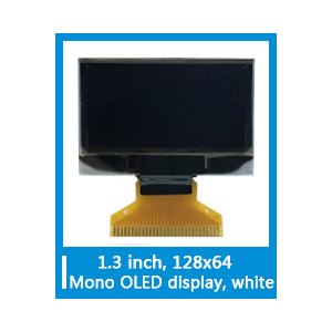 "China Formike 1.3"" OLED Display with 128*64 dots(KWH0130UL01) factory"
