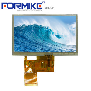 China 4.3 inch 24 bit 480x272 touch LCD panel for sale KWH043ST12-F04 V.2 factory