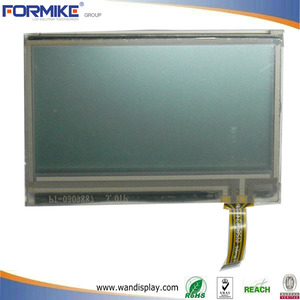 China 6 O'clock 128 x 64 Transflective Positive Graphic FSTN LCD Display(WG1206H8FSW6G) factory